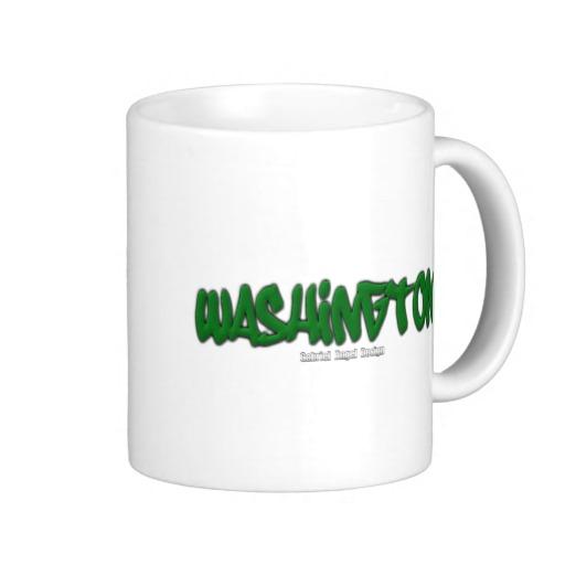 Washington Graffiti Classic White Mug