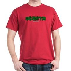 Washington Graffiti Dark T-shirt
