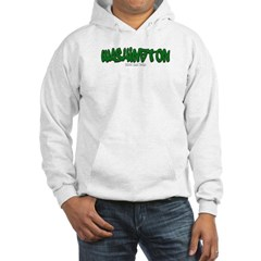 Washington Graffiti Hooded Sweatshirt