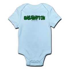 Washington Graffiti Infant Bodysuit