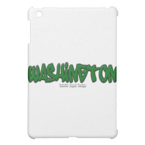 Washington Graffiti iPad Mini Matte Finish Case
