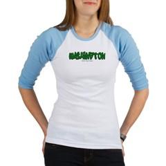 Washington Graffiti Junior Raglan T-shirt