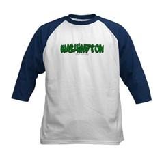 Washington Graffiti Kids Baseball Jersey T-Shirt