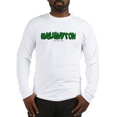 Washington Graffiti Long Sleeve T-Shirt