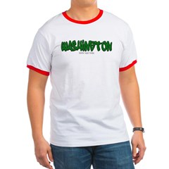 Washington Graffiti Ringer T-Shirt