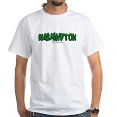 Washington Graffiti White T-Shirt