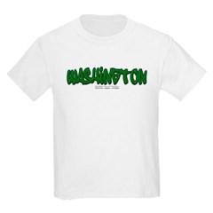 Washington Graffiti Youth T-Shirt by Hanes