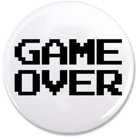 "Game Over 3.5"" Button"
