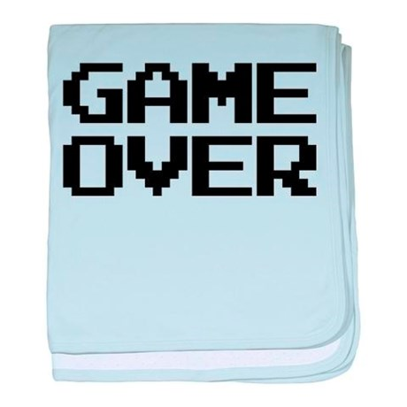 Game Over Baby Blanket