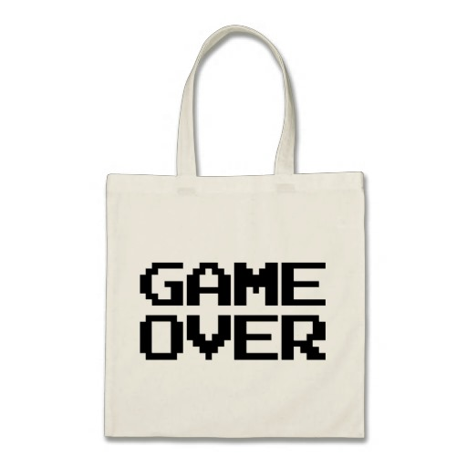 Game Over Budget Tote