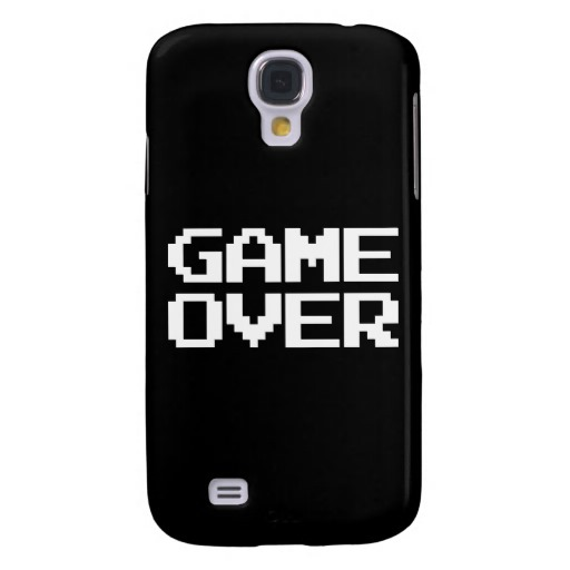 Game Over Case-Mate Barely There Samsung Galaxy S4 Case