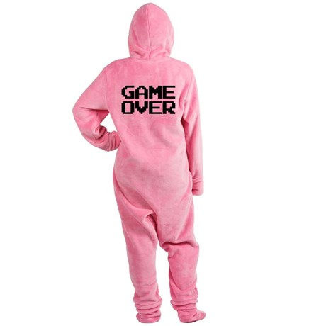 Game Over Footed Pajamas