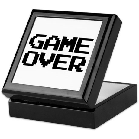 Game Over Keepsake Box