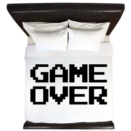 Game Over King Duvet