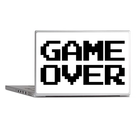 Game Over Laptop Skins