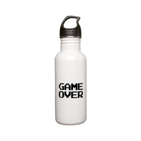 Game Over Stainless Steel Water Bottle 0.6L