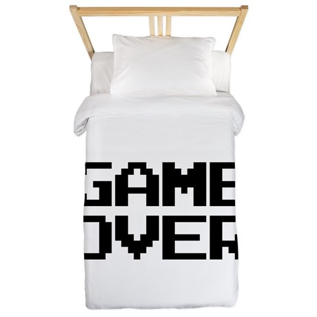 Game Over Twin Duvet