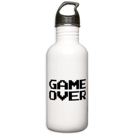 Game Over Water Bottle 1L