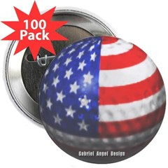 """American Golf 2.25"""" Button (100 pack)"""