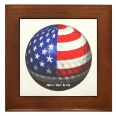 American Golf Framed Tile