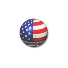 American Golf Mini Button