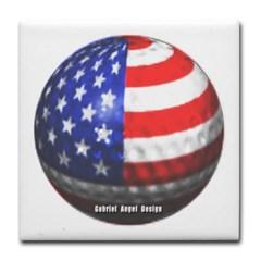 American Golf Tile Coaster