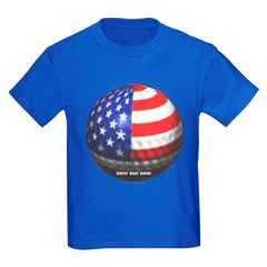 American Golf Youth Dark T-Shirt by Hanes
