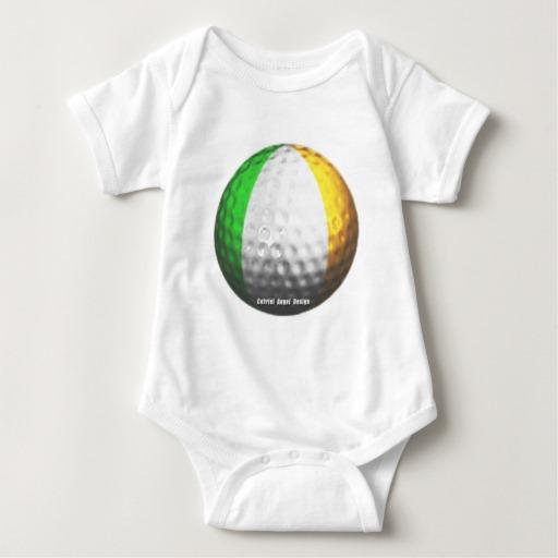 Ireland Golf Baby Jersey Bodysuit