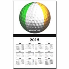 Ireland Golf Calendar Print
