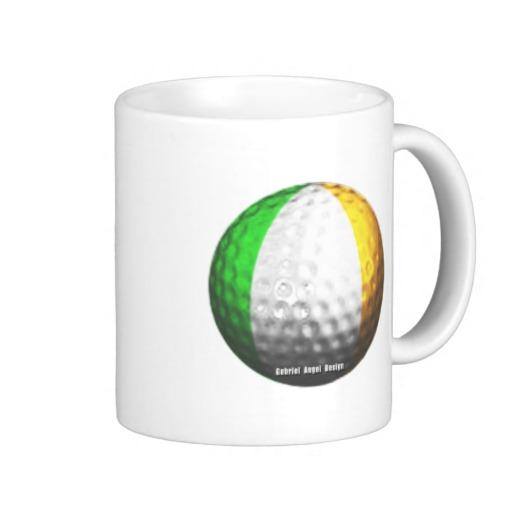 Ireland Golf Classic White Mug