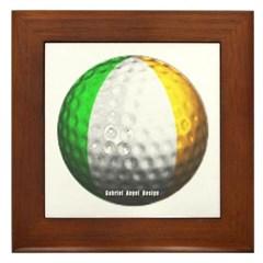 Ireland Golf Framed Tile