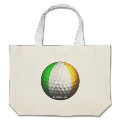 Ireland Golf Jumbo Tote