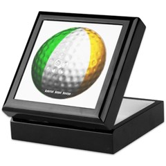 Ireland Golf Keepsake Box