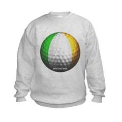 Ireland Golf Kids Crewneck Sweatshirt by Hanes