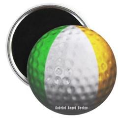 Ireland Golf Magnet