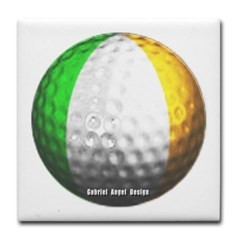 Ireland Golf Tile Coaster