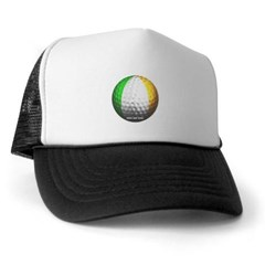 Ireland Golf Trucker Hat