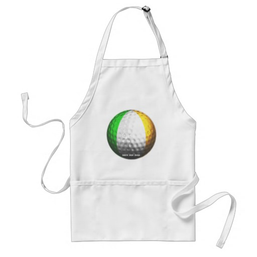 Irish Golf Adult Apron