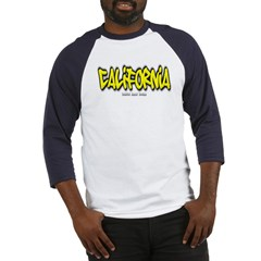 California Graffiti Baseball Jersey T-Shirt