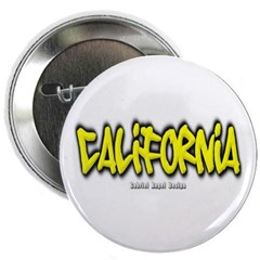 California Graffiti Button