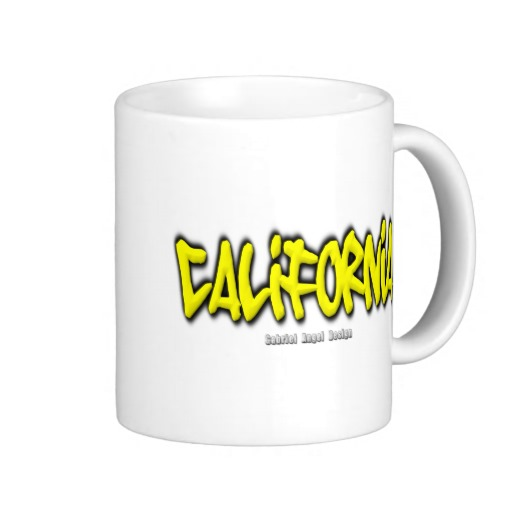 California Graffiti Classic White Mug