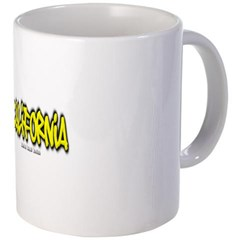 California Graffiti Coffee Mug