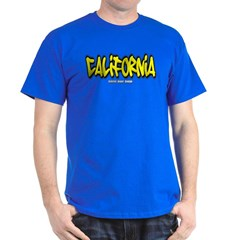 California Graffiti Dark T-shirt