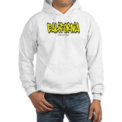 California Graffiti Hooded Sweatshirt
