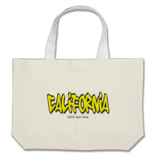 California Graffiti Jumbo Tote