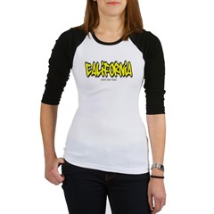 California Graffiti Junior Raglan T-shirt