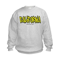 California Graffiti Kids Crewneck Sweatshirt by Hanes