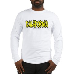 California Graffiti Long Sleeve T-Shirt