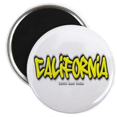 California Graffiti Magnet