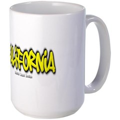 California Graffiti Mug